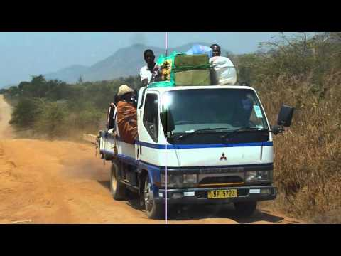 P1070389 Travelling in our vehicle in Malawi