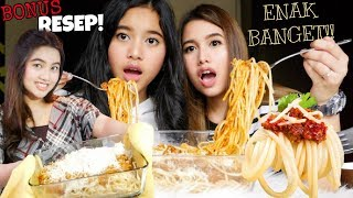 SPAGHETTI BOLOGNESE TERENAK!! BANJIR KEJU! By Three Musketeers