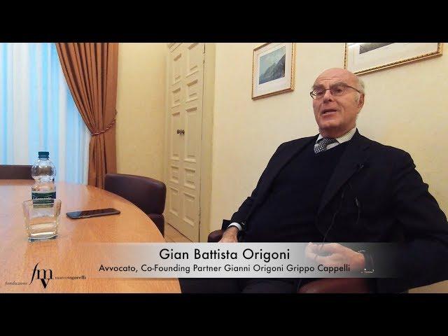 Gian Battista Origoni, ricordi di un guerriero