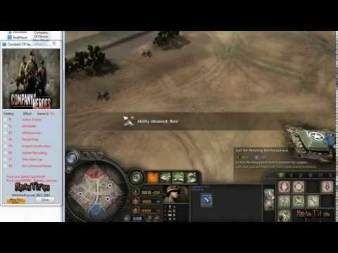Company Of Heroes New Steam V2.700.2.30 Trainer +7