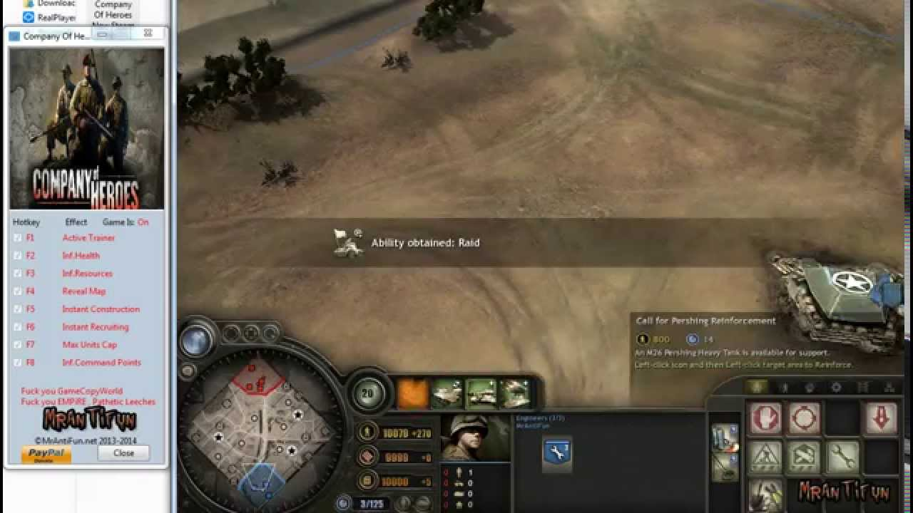 Company Of Heroes New Steam V2 700 2 30 Trainer 7 Youtube