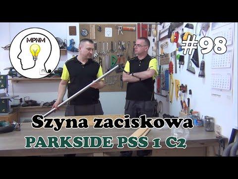 #98 - Szyna zaciskowa 122 cm Parkside PSS 1 C2