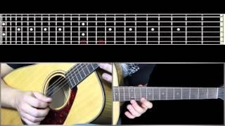 Соло замедление 1/2 Сплин - Мое сердце (Уроки игры на гитаре Guitarist.kz)