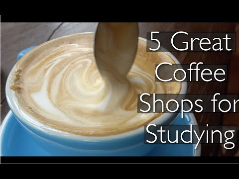 Vlog: 5 best coffee shops for studying