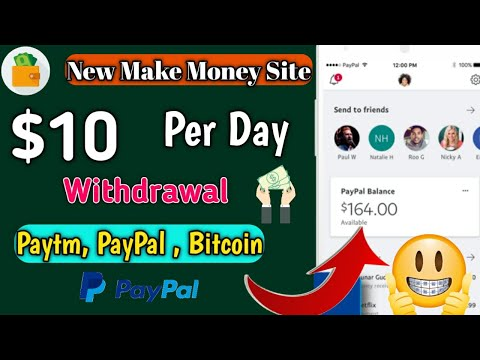 Earn Up To $10 Per Day - Withdrawal In Bitcoin, PayPal Cash And Paytm🔥 - No Investment