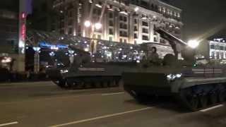 Парад Победы в Москве 2015 - репетиция / Victory Day parade in Moscow 2015 - rehearsal