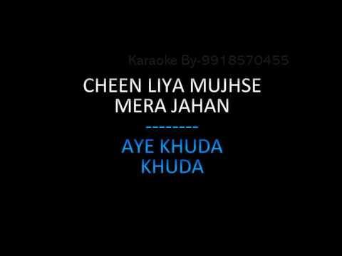 Aye Khuda Karaoke Video Lyrics Rocky Handsome 2016