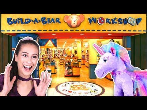 ZELF EENHOORN KNUFFEL SAMENSTELLEN?! - Build A Bear || Fan Friday