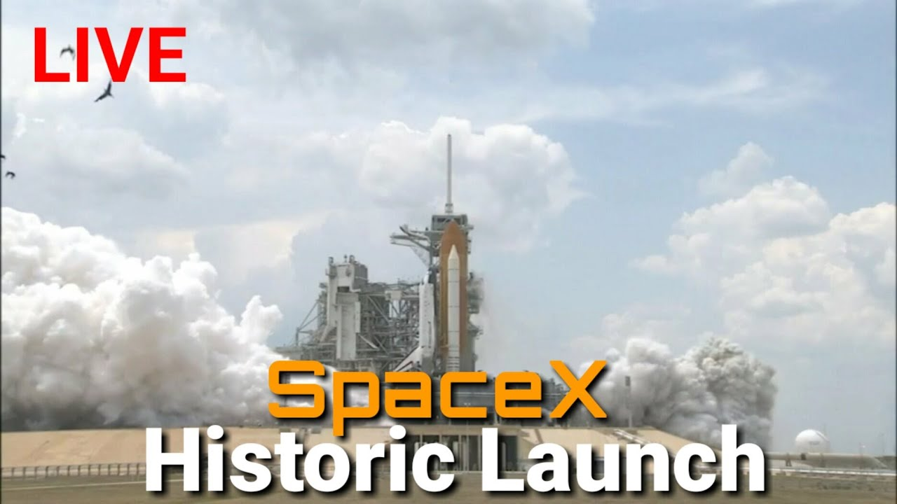 6 ways to watch SpaceX's historic first rocket launch of NASA ...