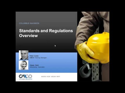 Safety Webinar: Safety Standards and Regulations Overview