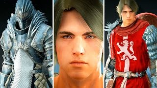 Black Desert Online: Warrior Character Creation (3rd CB Korea)