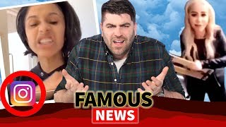 Cardi B Deletes Instagram, Balcony Chair Girl Identified as Marcella Zoia & More!
