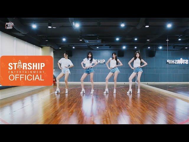 [Dance Practice] 우주소녀(WJSN) - Touch My Body