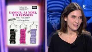 On n'est pas couché - Géraldine Pailhas & Grégori Derangère 23/11/13 #ONPC