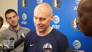 Rick Carlisle on Luka Doncic & Dirk Nowitzki All-Star Appearances & Mavs Season Plans Post All-Star