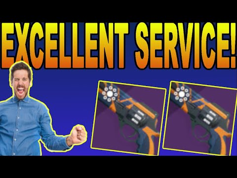 THE EXCELLENT SERVICE REVOLVER! How To Get, God Roll Guide + Gameplay! Destiny 2 Shadowkeep
