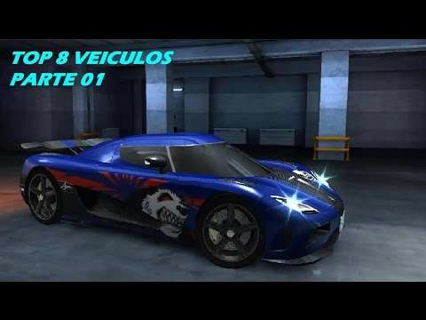 CSR RACING TOP 8 CARROS MAIS RÁPIDOS #01