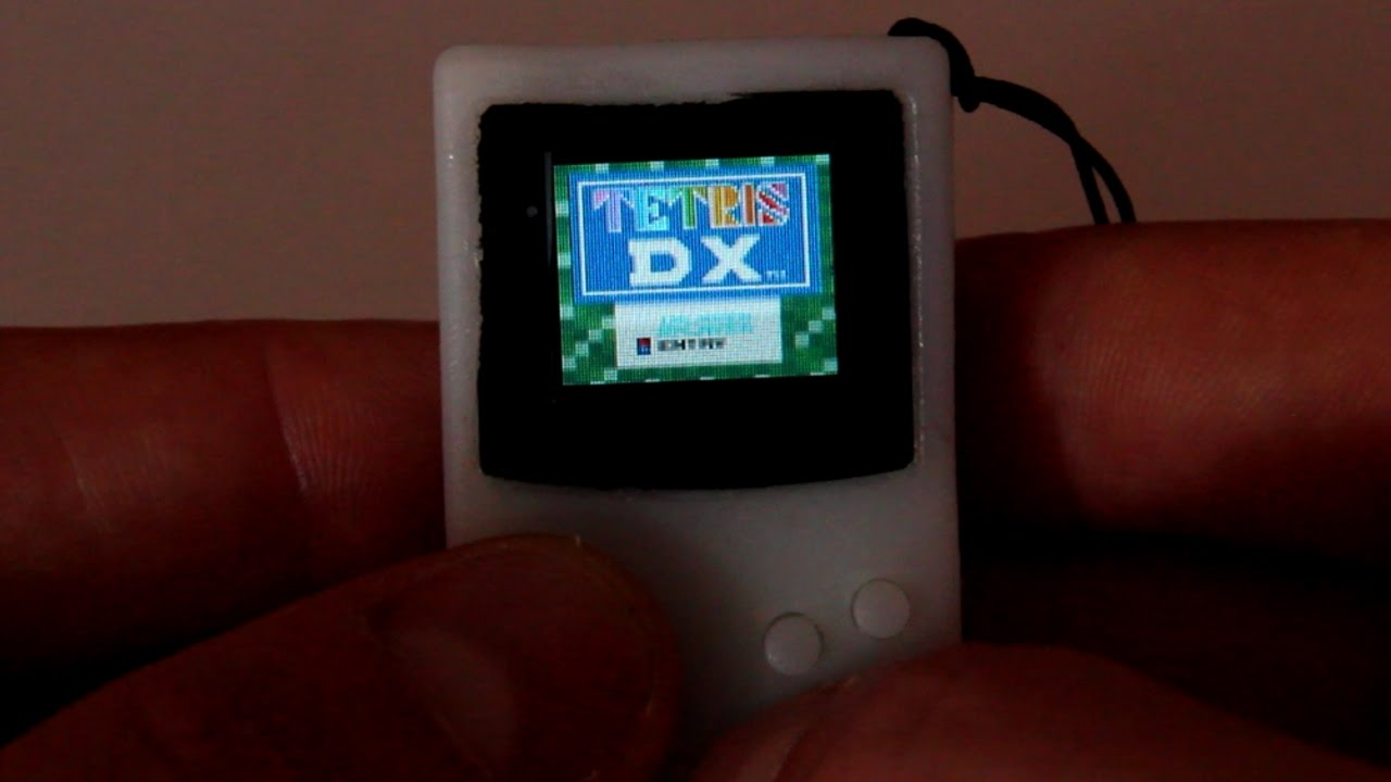 Hands On With The Smallest Game Boy Ever Made | Hackaday
