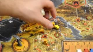 Scythe vídeo reseña - Secuencia del turno y opinión