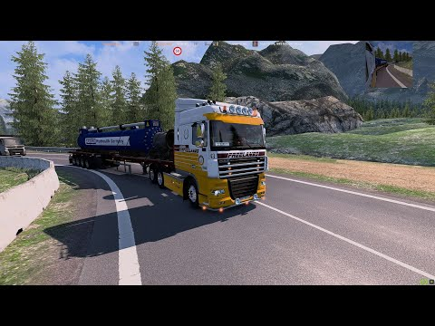 #2 ETS2 1.41 MAP COMBO   Luxembourg (L) - Alps - Bologna (I)   2K 1440p