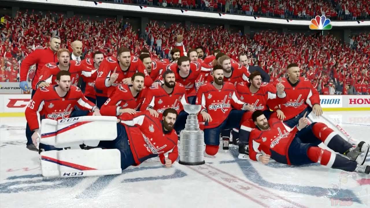 NHL 18 - Washington Capitals Stanley Cup Celebration - YouTube d9911f75136