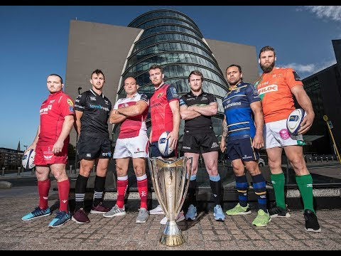 2017/18 Champions Cup Launch: Guinness PRO14 Clubs