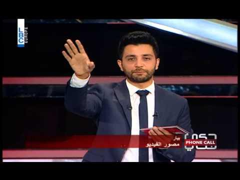 7ki Jelis -1/06/2015 - Episode 55 - اتصال من أمين ابو جودة، المحامي المعنّف الذي اعتدى على زوجته