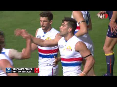 Round 8 AFL - West Coast Eagles v Western Bulldogs Highlights