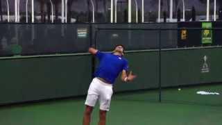 Novak Djokovic Tennis Serve Super Slow Motion HD