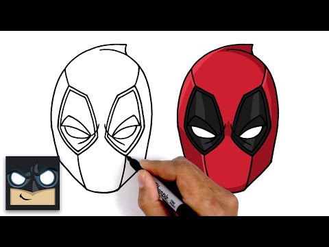 How To Draw Deadpool | Step By Step Tutorial