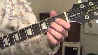 Boom Boom - guitar lesson