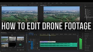 How to Edit Drone Footage | A Beginner's Guide | The Basics