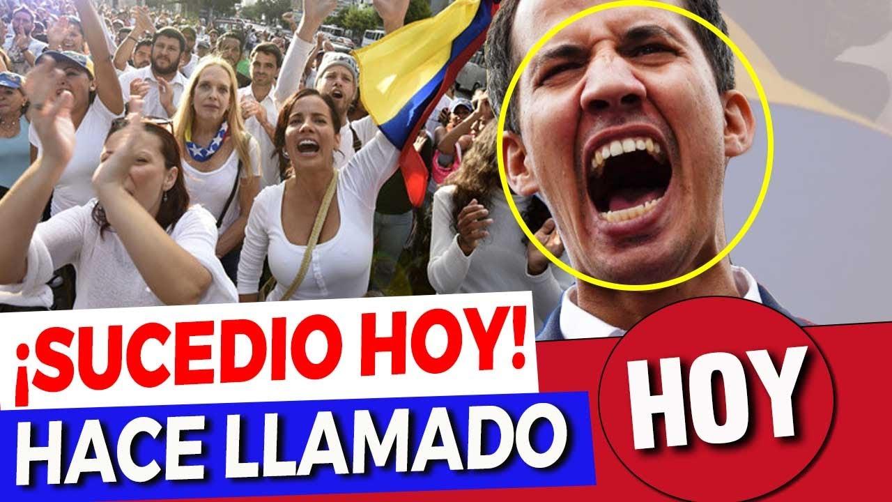 Ultima Hora Venezuela | Guaidó llama a la Rebeldía y a una Segunda Independencia