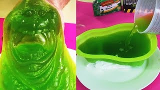 Ghostbusters Green Slimer Gummy Jelly Ghost Mold