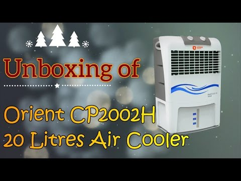 Unboxing of Orient Smartcool Dx CP2002H Air Cooler Plus Comparison with Symphony Diet 12T