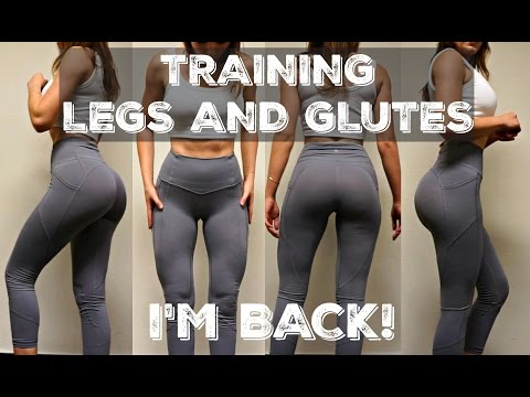 Killer Leg & Glute Workout | I'm Back!
