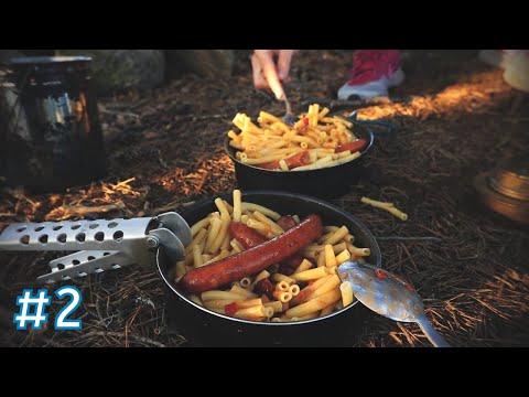 Outdoor Kochen ganz einfach in Schweden auf der Kanu Tour