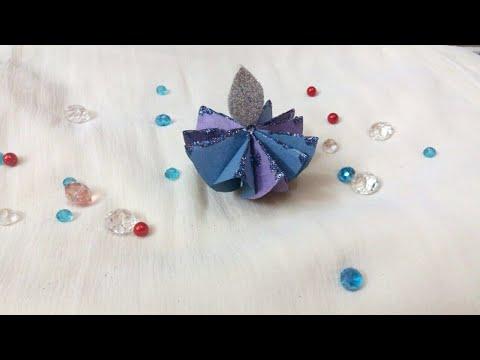 Diy how to make paper diya   Easy paper diya   Diwali decoration ideas