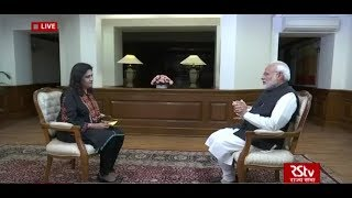 PM Modi's First Interview on New Year 2019