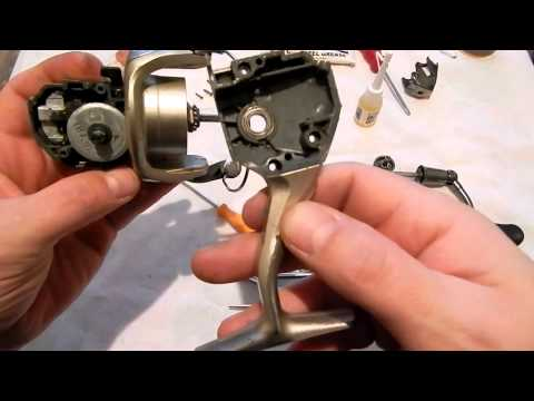как улучшить рыболовную катушку