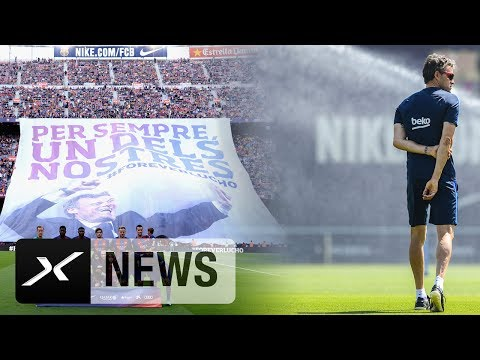 Luis Enrique vor Barcelona Abschied: Wollen den Titel! | FC Barcelona - Alaves | Copa del Rey
