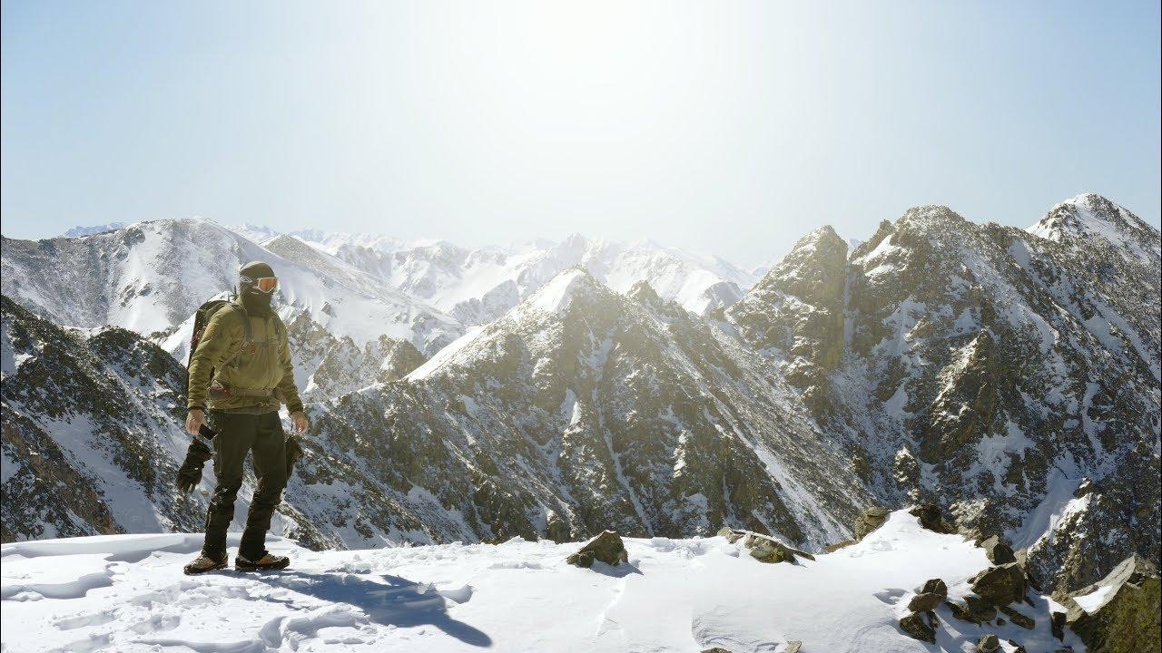 Winter Mountaineering On Atlantic Peak Youtube Video Camera Switcher Max454