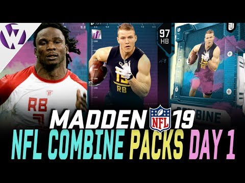 COMBINE PACK OPENING! COMBINE MASTER CJ2K! - Madden 19 Pack Opening