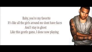 Chris Brown - Fine China (Lyrics) Letra