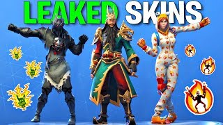 *NEW* Leaked Fortnite Skins & Emotes..! (Spider Knight, Arachne, Guan Yu, Onesie)