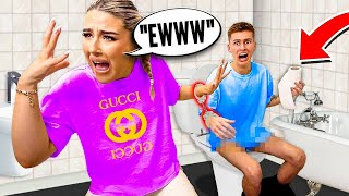 HANDCUFFED To My GIRLFRIEND For 24 HOURS!! *Bad Idea*