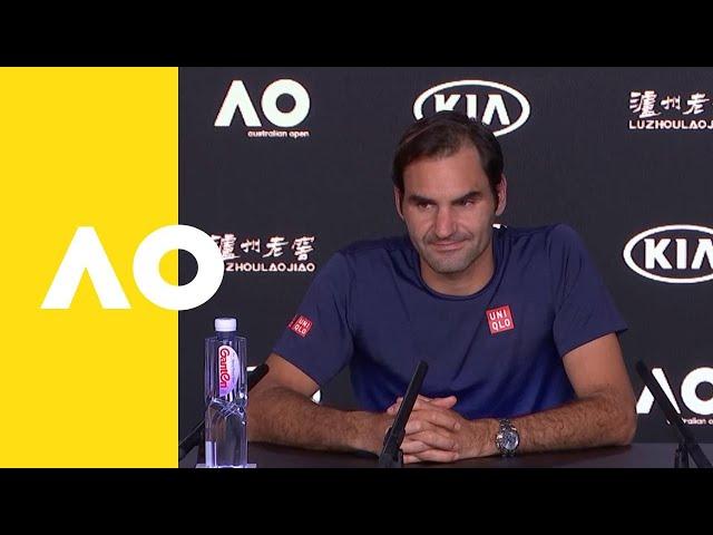 Roger Federer press conference (4R)   Australian Open 2019