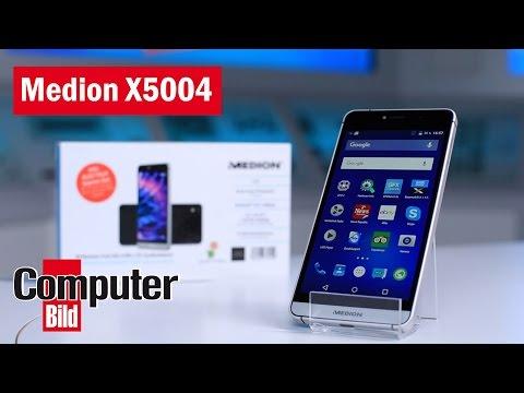 Medion X5004 Test des Discounter Smartphones