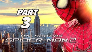 The Amazing Spider-Man 2 Walkthrough Part 3 - Oscorp (PS4 1080p Gameplay)