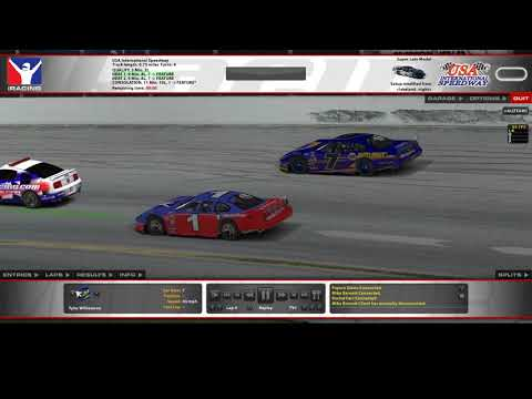 IRacing Super Late Model Series - Nascar Whelen All American Series Five Star Race Bodies 100